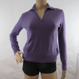 Prive Shirt 100% Cashmere Sweater Long Sleeve